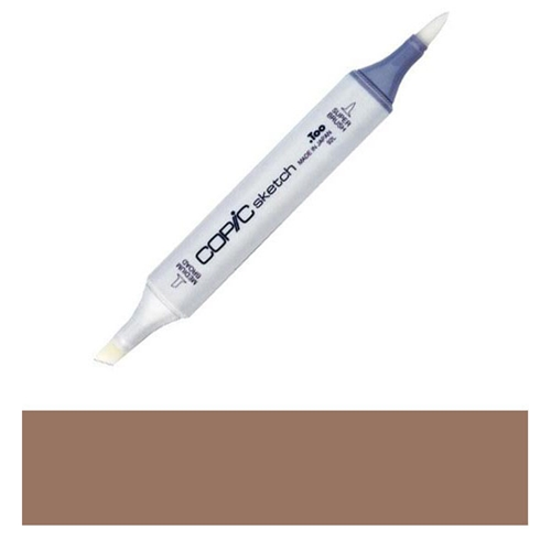 Copic Sketch Marker E27 MILK CHOCOLATE Brown Preview Image