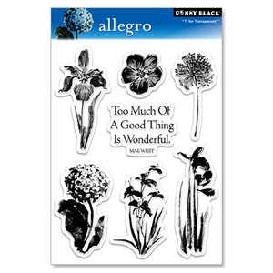 Penny Black Clear Stamps ALLEGRO 30-033