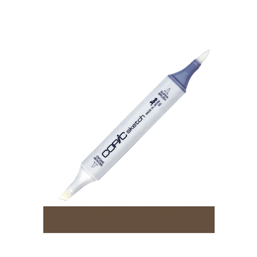 Copic Sketch MARKER E49 DARK BARK Brown Preview Image