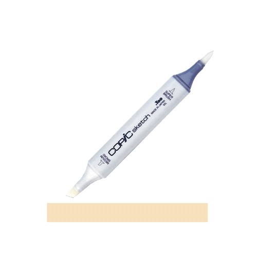 Copic Sketch Marker E55 LIGHT CAMEL Tan Preview Image