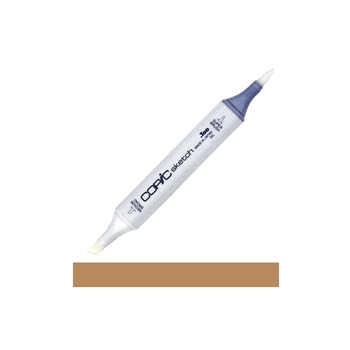 Copic Sketch Marker E57 LIGHT WALNUT Light Brown