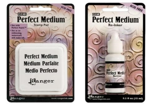 Ranger Clear PERFECT MEDIUM PAD PLUS REFILL Ink Set PPP16205 AND PPP16212 zoom image