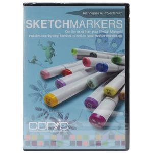 COPIC DVD Video Sketch Marker Techniques And Projects