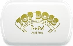 Clearsnap Colorbox TOP BOSS Tinted Embossing Ink Pad 107508 Preview Image