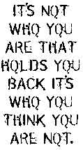 Tim Holtz Rubber Stamp WHO ARE YOU Stampers Anonymous K5-1498 Preview Image