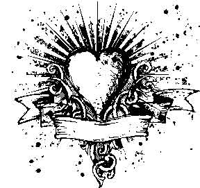 Tim Holtz Rubber Stamp HEART N SOUL And Stampers Anonymous U2-1474 Preview Image
