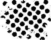 Tim Holtz Rubber Stamp DOTTED Background Stampers Anonymous J1-1482