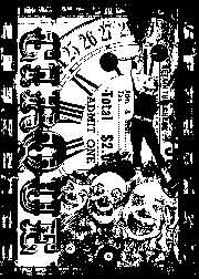 Tim Holtz Rubber Stamp CIRCUS FREAK Stampers Anonymous
