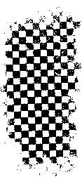 Tim Holtz Rubber Stamp CHECKED Background Stampers Anonymous K3-1485 Preview Image
