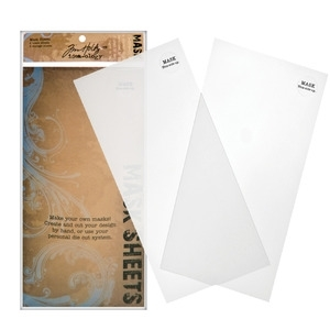 Tim Holtz Idea-ology MASK SHEETS Blank Make Your Own Masks  TH92815 zoom image