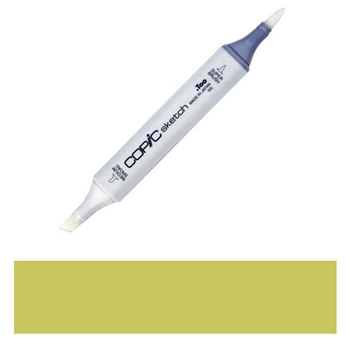 Copic Sketch Marker YG95 PALE OLIVE Light Green Yellow