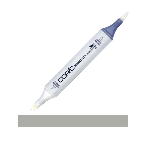 Copic Sketch Marker W5 WARM GRAY NO.5 Medium Blend Blending Preview Image