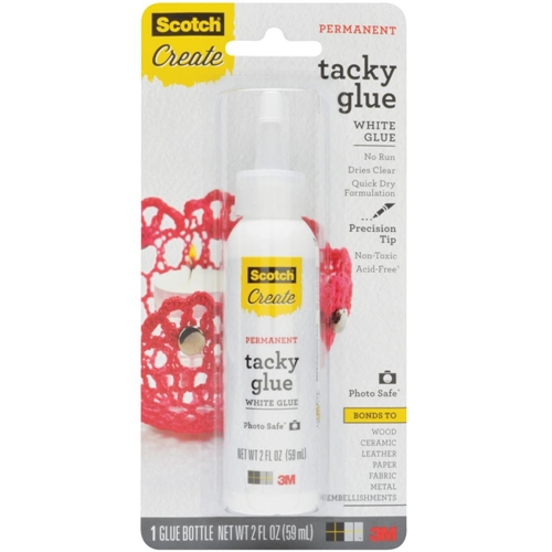 3M Scotch Quick Dry TACKY ADHESIVE 50446 Acid Free  Preview Image