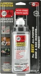 Un-Du ADHESIVE REMOVER Sticker Tape and Label Remover 00205 Preview Image