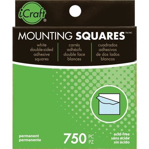 Therm O Web MOUNTING SQUARES Self-Adhesive & Archival Safe Value Pack 3872 Preview Image