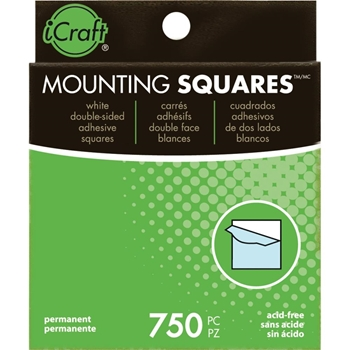 Therm O Web MOUNTING SQUARES Self-Adhesive & Archival Safe Value Pack 3872