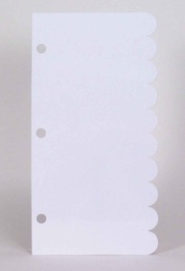 Wendy Vecchi Studio 490 Stamp PLAIN STORAGE SHEET Cling Page