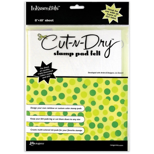 Ranger Inkssentials CUT N DRY FELT Cut-N-Dry Stamp Pad CND14591 Preview Image