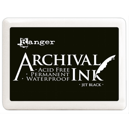 Ranger Archival Ink Pad JUMBO JET BLACK A3P06701 Preview Image