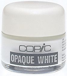 Copic OPAQUE WHITE Pigment 30cc Jar WOW zoom image