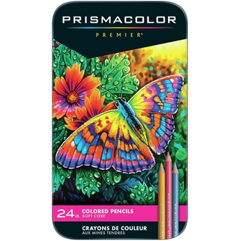 Prismacolor PREMIER COLORED PENCILS 24 Set 3597