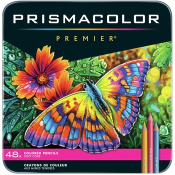 Prismacolor PREMIER COLORED PENCILS 48 Set Lot 3598
