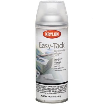 Krylon EASY TACK Spray Adhesive Repositionable 7020