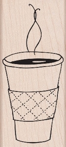 Hero Arts Rubber Stamp CUP OF COFFEE K5332