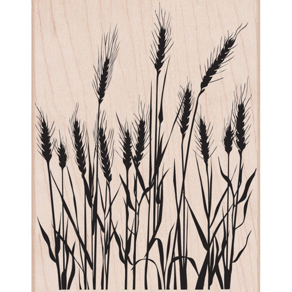 Hero Arts Designblock SILHOUETTE GRASS Rubber Stamp s5316 zoom image
