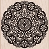 Hero Arts CIRCLE LACE Rubber Stamp S5319 Preview Image