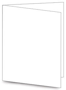 Hero Arts NOTECARDS SNOW 10 Cards PS566 White