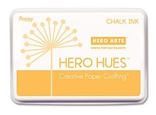 Hero Arts HUE Chalk Ink POPPY Stamp Pad AF181