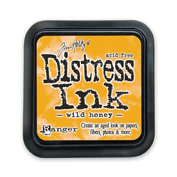 Tim Holtz Distress Ink Pad WILD HONEY Ranger TIM27201