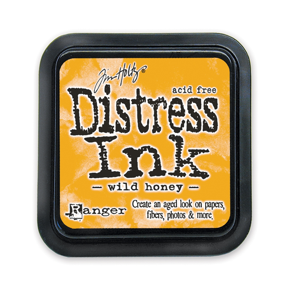 Tim Holtz Distress Ink Pad WILD HONEY Ranger TIM27201 zoom image