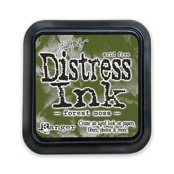 Tim Holtz Distress Ink Pad FOREST MOSS Ranger TIM27133