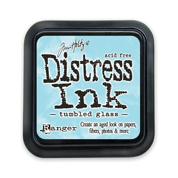 Distress ink pad Tumbled Glass