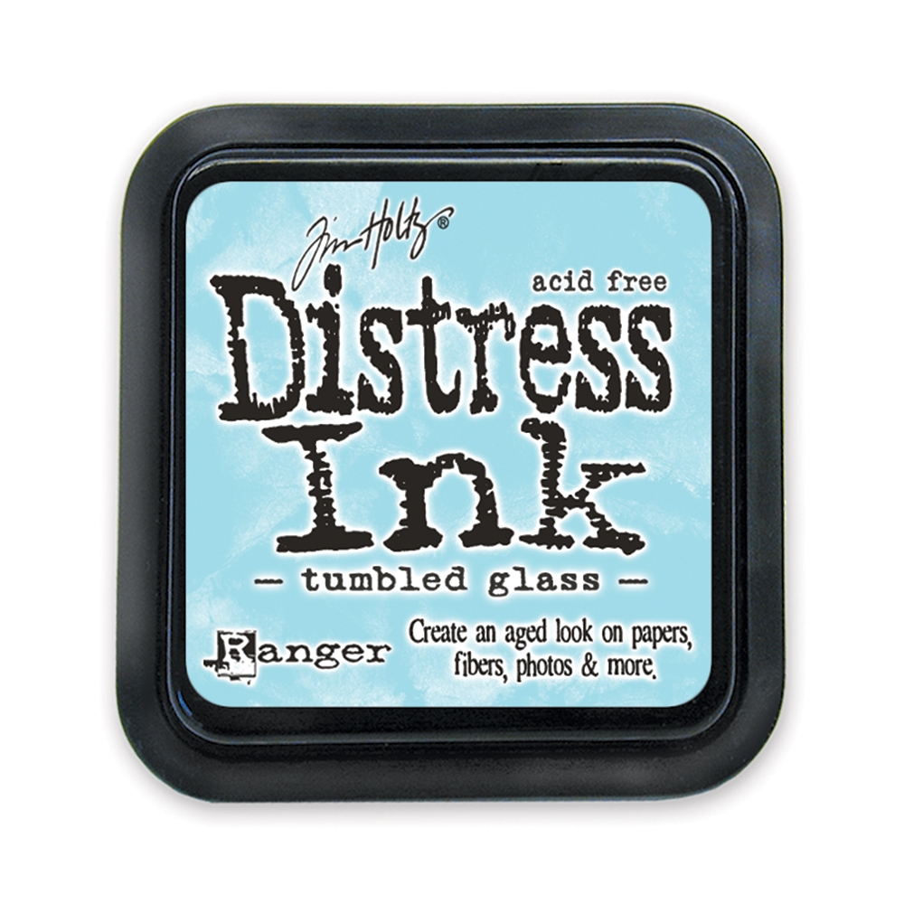 Tim Holtz Distress Ink Pad TUMBLED GLASS Ranger TIM27188 zoom image