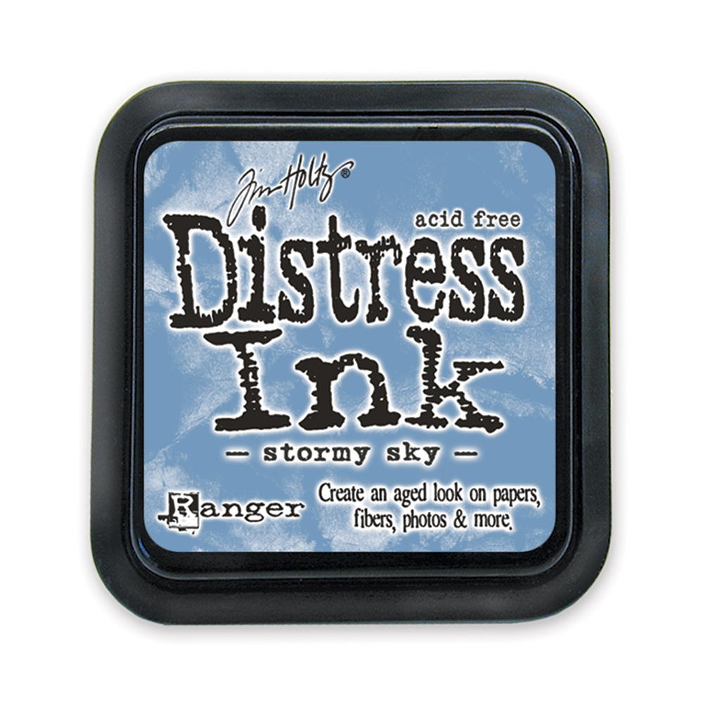 Tim Holtz Distress Ink Pad STORMY SKY Ranger TIM27171 zoom image