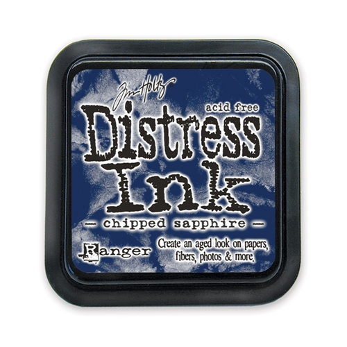 Tim Holtz Distress Ink Pad CHIPPED SAPPHIRE Ranger TIM27119 Preview Image