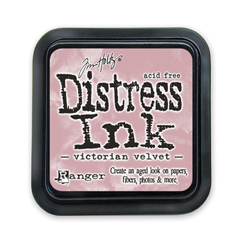 Distress ink pad Victorian Velvet