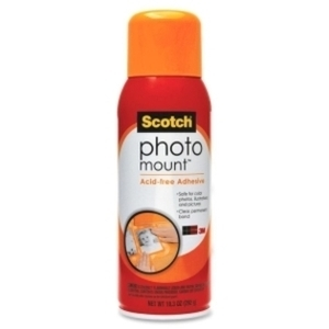 3M PHOTO MOUNT Spray Adhesive Permanent 64718 Preview Image