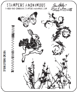 Tim Holtz Cling Rubber Stamps SPRING SPRUNG Easter Stampers Anonymous zoom image