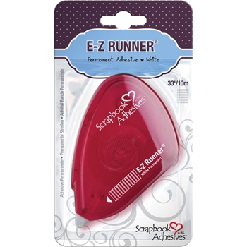Scrapbook Adhesives E-Z RUNNER RED Permanent Tape 01644