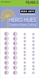 Hero Arts 42 Accent Pearls LIGHT LAVENDER CH199