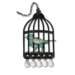 Tim Holtz Sizzix Die CAGED BIRD Bigz Alterations 656634