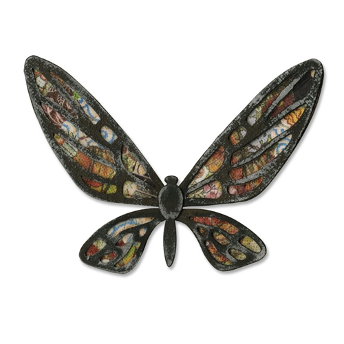 Tim Holtz Sizzix Die FANCIFUL FLIGHT Bigz Butterfly Alterations 656635 Preview Image