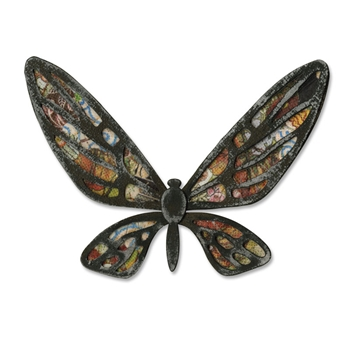 Tim Holtz Sizzix Die FANCIFUL FLIGHT Bigz Butterfly Alterations 656635
