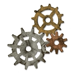 Tim Holtz Sizzix Die GADGET GEARS Bigz Alterations 656636 Preview Image