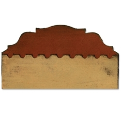 Tim Holtz Sizzix Die PLAQUE & POSTAGE On The Edge Alterations 656628