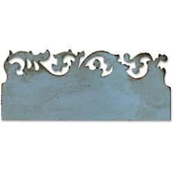 Tim Holtz Sizzix Die SCROLLWORK On The Edge Alterations 656624 zoom image